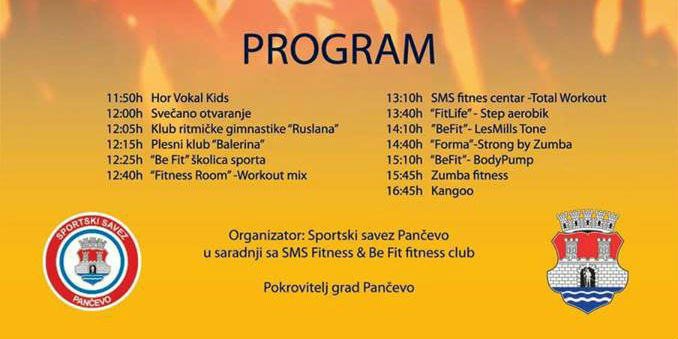 0 program fitnes dan 13 maj