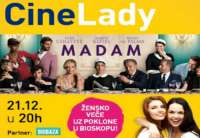 "Cinestar: CINELADY projekcija filma ""Madam"" (VIDEO)"