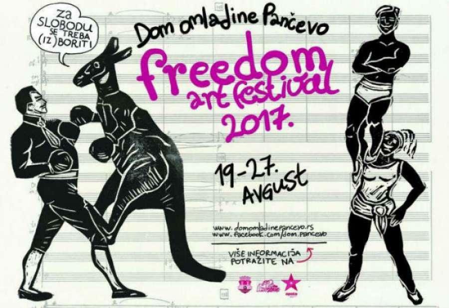 Program Freedom Art Festivala za 26. avgust (VIDEO)