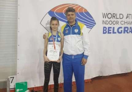 Sanja Marić vicešampionka Srbije u trci na 800 metara