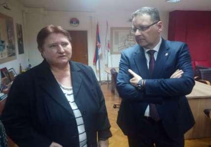Ambasadorka Slovačke u Srbiji u poseti Pančevu