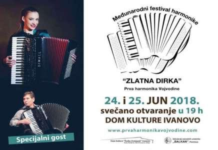 """Festival harmonike """"Zlatna dirka"""" u Ivanovu 24. i 25. juna (VIDEO)"""