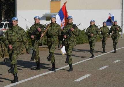 U Pančevu organizovan ispraćaj vojnika u misiju u Liban