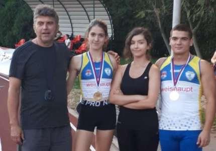Atletika: Marija Mrkela i Aleksa Živanov osvojili dve zlatne medalje u Sremskoj Mitrovici