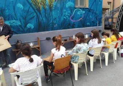 Škola crtanja za decu od 12 do 15 godina u Domu omladine