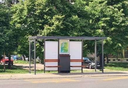 "Postavljena još dva ""pametna"" autobuska stajališta u Pančevu"