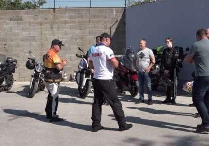 Organizovan trening bezbedne vožnje za motocikliste