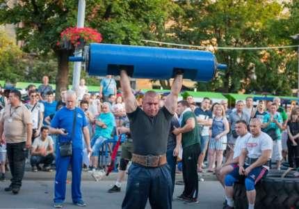 Pančevo: održan izbor za najjačeg čoveka Srbije Weifert kup
