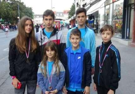 """Nove medalje za atletičare """"Panonije"""" u Požarevcu"""