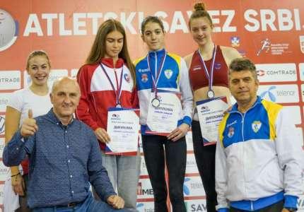 Atletika: Marija Mrkela nova rekorderka Srbije