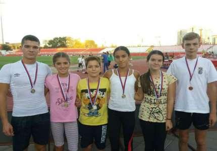 """Šest medalja za AK Dinamo na mitingu """"17. Open Novog Sada"""""""