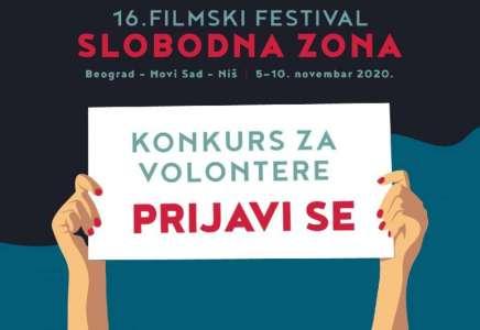 Konkurs za volontere i volonterke Filmskog festivala Slobodna zona