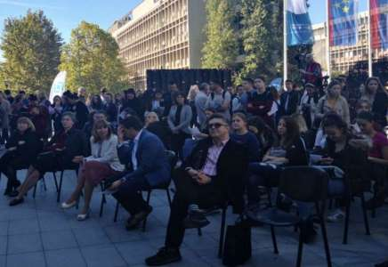 "Pančevački srednjoškolci na Konferenciji ""Inovacija – moja revolucija"""
