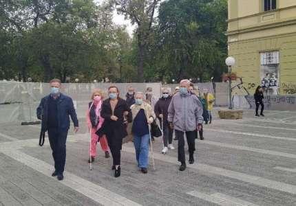 Tradicionalnom šetnjom ulicama Pančeva obeležen Dan slepih
