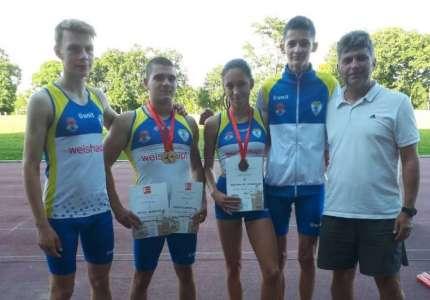 Atletika: juniori Dinama osvojili dve zlatne i jednu bronzanu medalju