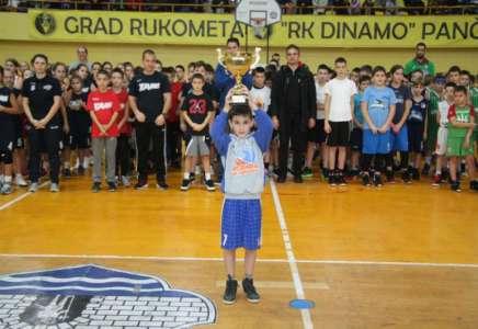 U Pančevu održan Drugi međunarodni mini basket festival