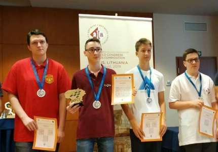 Ilija Serafimović po četvrti put najbolji na svetu u šahovskoj kompoziciji