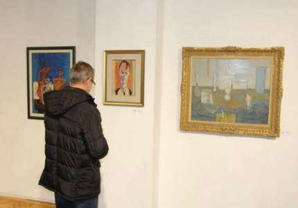 Slike čuvenih jugoslovenskih autora 20. veka u Muzeju