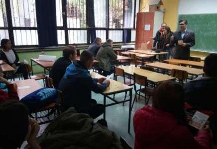 """Srednjoškolcima predstavljena akcija """"Kultura na poklon"""""""