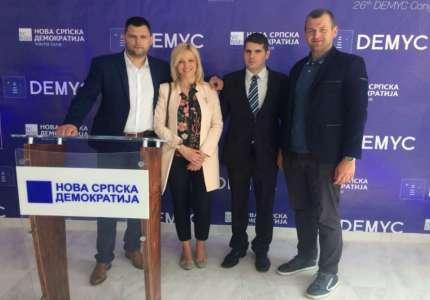 Miloš Đurin izabran za potpredsednika Demokratske zajednice mladih Evrope