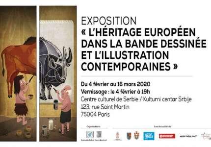 """Izložba """"Evropsko nasleđe u savremenom autorskom stripu i ilustraciji"""" u Parizu"""