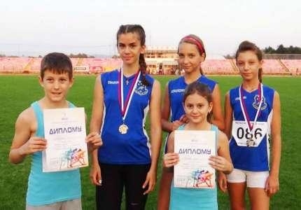 Dva srebra za atletičare Panonije u Kragujevcu