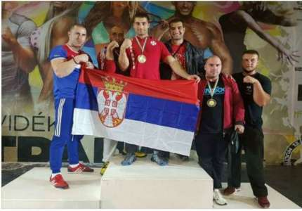 Tri medalje za reprezentaciju Srbije u obaranju ruke