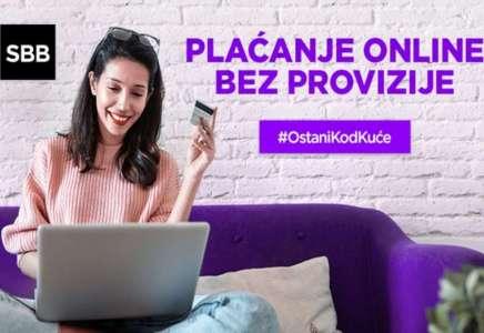 SBB omogućio plaćanje računa online bez provizije