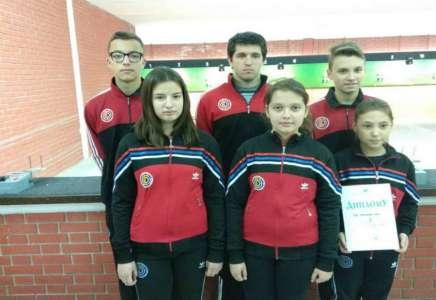 Pančevci vicešampioni ekipno u Kupu Vojvodine u streljaštvu