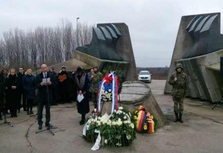Na Stratištu održana državna ceremonija u znak sećanja na Rome stradale u Drugom svetskom ratu