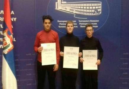 Pokrajina nagradila i talente pančevačke muzičke škole