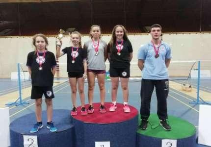 Sedam medalja za igrače Badminton kluba Pančevo