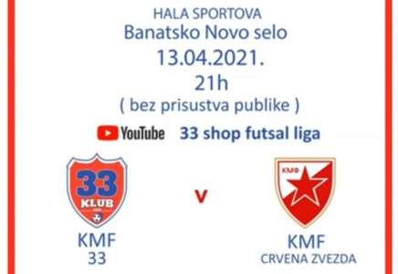 Mali fudbal: KMF 33 ugostiće Crvenu zvezdu