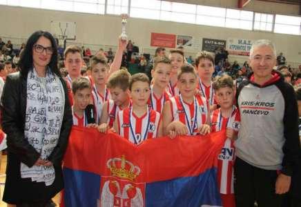 Uspeh najmlađih košarkaša Kris Krosa na turniru u Grčkoj