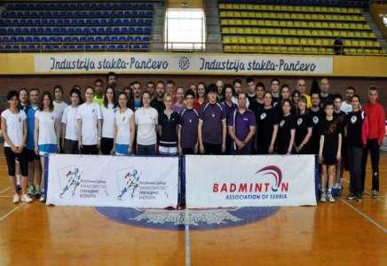 U Pančevu održan badminton turnir u B i C kategoriji