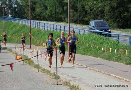 Tri prvaka države među pančevačkim triatloncima
