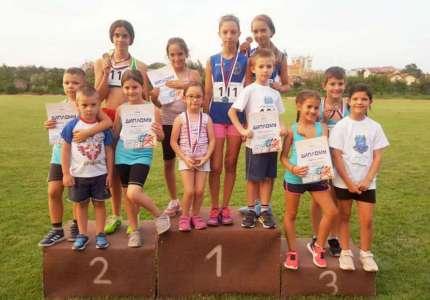 Pet medalja za atletičare Panonije na takmičenju u Smederevskoj Palanci