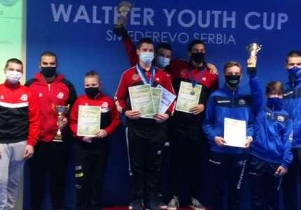 Veliki uspeh pištoljaša: zlatne medalje na Walther kupu za mlade u Smederevu