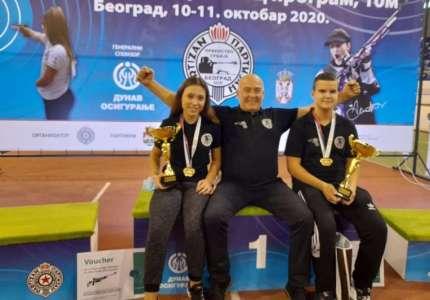 Streljaštvo: Dve šampionske titule za Pančevce na Prvenstvu Srbije