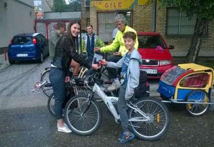 Pokloni Grada Pančeva za bicikliste