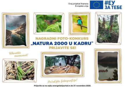 """Otvoren foto-konkurs """"Natura 2000 u kadru"""""""