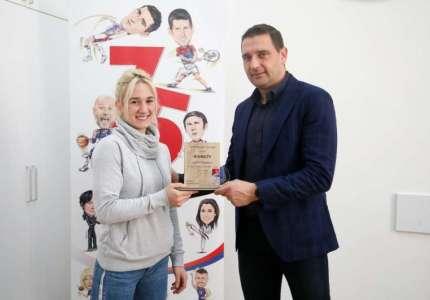 Andrea Stojadinov najbolja sportistkinja Beograda