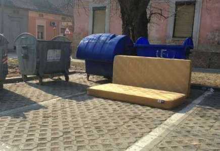 Raspored odnošenja kabastog smeća za 20. april