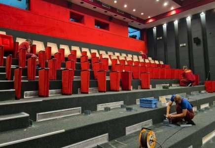 U toku rekonstrukcija Dvorane Kulturnog centra Pančevo