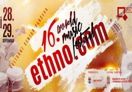 World music festival 16. Ethno.com u Pančevu
