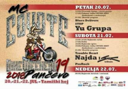 Moto skup u Pančevu od 20. do 22. jula