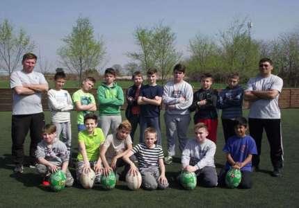 U Starčevu održan prvi ragbi trening za decu