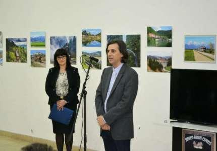 """Otvorena izložba """"Vozom kroz Sloveniju"""" u Železničkom muzeju"""