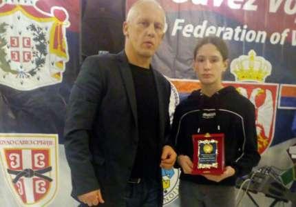 Andrijana Krtenić najbolja mlađa kadetkinja u izboru Džudo saveza Vojvodine