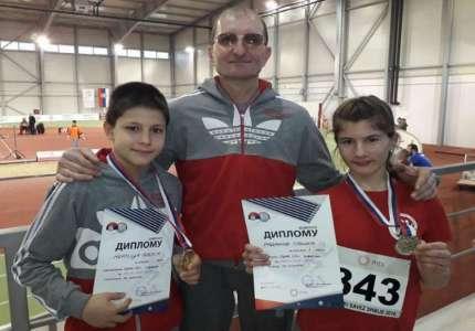 Tri medalje za atletičare Tamiša na Prvenstvu Srbije